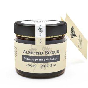 Make Me Bio, delikatny peeling do twarzy Almond Scrub 60ml