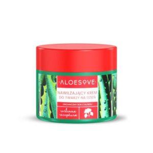 Aloesove, nawilżający krem do twarzy na dzień 50ml