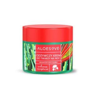 Aloesove, odżywczy krem do twarzy na noc 50ml