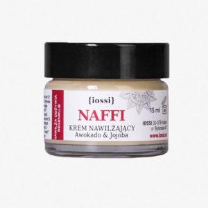 iossi, nawilżający krem do twarzy Naffi   mały – 15ml