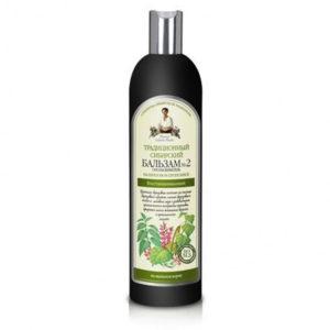 Bania Agafii, tradycyjny syberyjski balsam do włosów Nº 2 na brzozowym propolisie 550ml