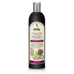 Bania Agafii, tradycyjny syberyjski balsam do włosów Nº 3 na łopianowym propolisie 550ml