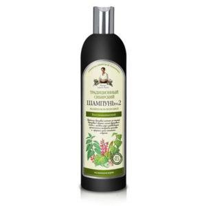 Bania Agafii, tradycyjny syberyjski szampon do włosów Nº 2 na brzozowym propolisie 550ml