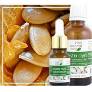 Your Natural Side, olej z pestek dyni (nierafinowany) 50ml (z nakrętką)