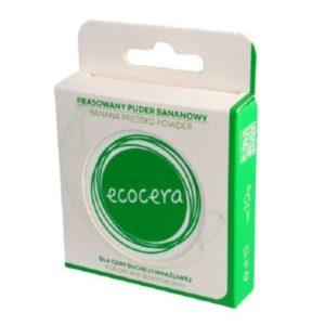 Ecocera, prasowany puder bananowy 10gr