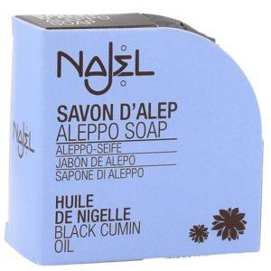 Najel, mydło Aleppo z olejem z czarnuszki 100g
