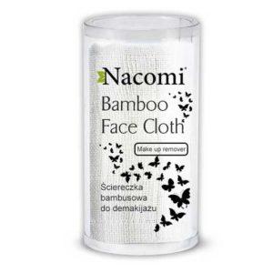 Nacomi, bambusowa ściereczka do demakijażu