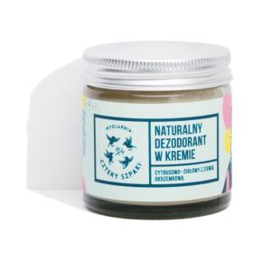 Mydlarnia 4 Szpaki, dezodorant w kremie cytrusowo – ziołowy 60ml