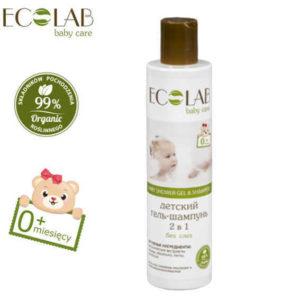 Eolab, żel pod prysznic i szampon do włosów dla dzieci i niemowląt od 1go dnia życia 250ml