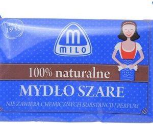Milo, 100% naturalne szare mydło w kostce 175g