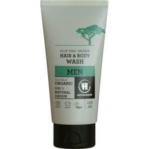 Urtekram, płyn do mycia ciała i włosów dla mężczyzn 150ml
