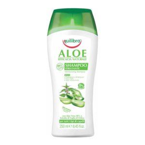 Equilibra, nawilżający szampon aloesowy 250 ml