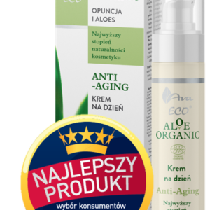 Ava Laboratorium, anti-aging krem na dzień – Opuncja i Aloes, Aloe Organic 50ml