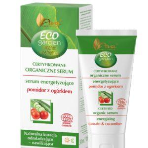 Ava Laboratorium, energetyzujące organiczne serum do twarzy – Pomidor z Ogórkiem, Eco Garden 30ml