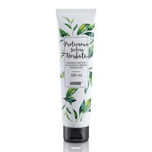 Anwen, odżywka do włosów o średniej porowatości – Proteinowa Zielona Herbata 100ml