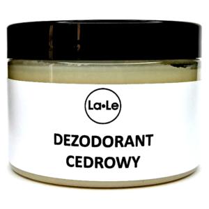 La-Le, dezodorant w kremie Cedrowy 150ml