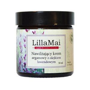 Lilla Mai, nawilżający krem do twarzy z olejkiem lawendowym 50ml