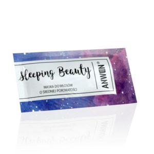 Anwen, maska w saszetce do włosów o średniej porowatości – Sleeping Beauty 10ml