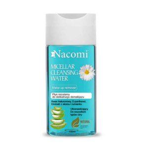 Nacomi, ultranawilżający płyn micelarny do demakijażu twarzy 150ml