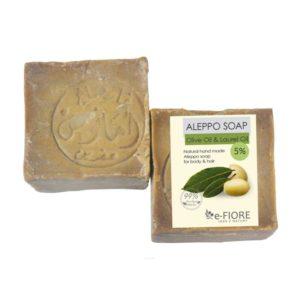 e-Fiore, mydło Aleppo 5% – skóra sucha i wrażliwa z olejem laurowym 200g