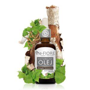 e-Fiore, olej dziegieć brzozowy na choroby skórne 50ml