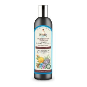 Babuszka Agafia, syberyjski szampon nr1 na cedrowym propolisie do włosów słabych i zniszczonych 550ml