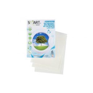 Smart Eco Wash, listki piorące i zmiękczjące hipoalergiczne do kolorów 6 prań