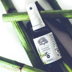 Mydło Stacja, hydrolat z pędów bambusa 50ml