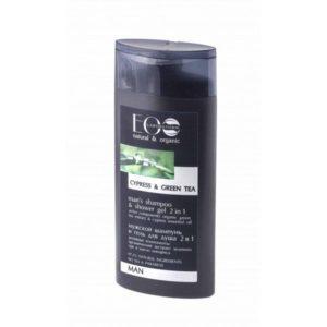 Eolab, szampon do włosów i żel pod prysznic 2w1 dla mężczyzn  250ml