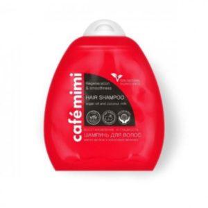 Cafe Mimi, szampon do włosów – Regeneracja i Gładkość 250 ml