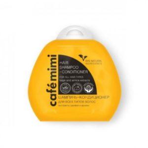 Cafe Mimi, szampon i odżywka 2w1   100 ml