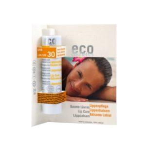 Eco Cosmetics, wodoodporny balsam do ust SPF30  4g
