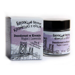 Brooklyn Groove, dezodorant w kremie – Lawenda i Trawa Cytrynowa 30ml