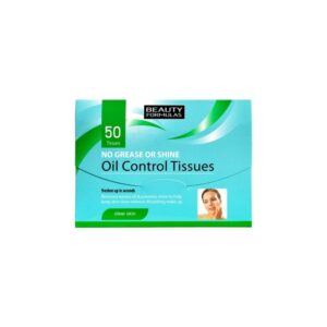 Beauty Formulas, bibułki matujące – Oil Control 50 szt.