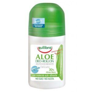 Equilibra, dezodorant w kulce z aloesem 50 ml