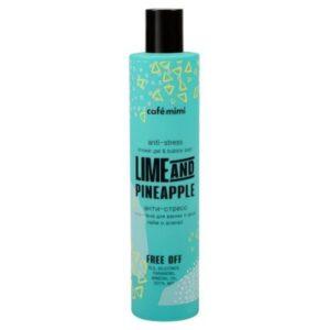 Cafe Mimi, żel pod prysznic i pianka do kąpieli 2w1 – Limonka i Ananas 300 ml