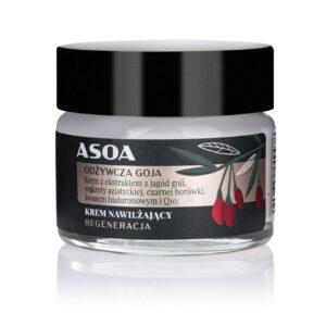 Asoa, ultranawilżający krem do twarzy – Odżywcza Goja 15ml
