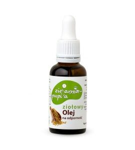 Zielarnia Pupila, ziołowy olej – Na Odporność 30ml