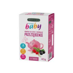 Premium Rosa, herbatka dla dzieci i niemowląt – Przeziębienie