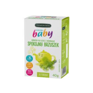 Premium Rosa, herbatka dla dzieci i niemowląt – Spokojny Brzuszek