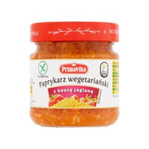 Primavika, paprykarz wegetariański z kaszą jaglaną 160 g