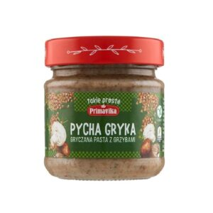 Primavika, Pycha Gryka – pasta gryczana z grzybami 160 g
