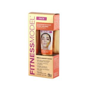 Fitokosmetik, peeling kwasowy do twarzy ze złotym pudrem 45 ml