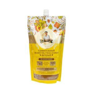 Babcia Agafia, szampon do włosów odżywczo-jajeczny 500 ml