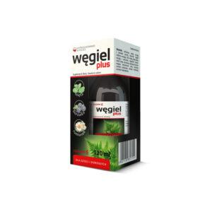 Węgiel Plus – syrop na układ trawienny 120 ml