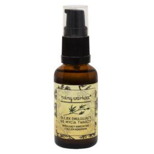 Polny Warkocz, olejek emulgujący do mycia twarzy z olejem konopnym 30ml