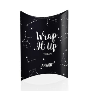 Anwen, turban Wrap It Up – czarny