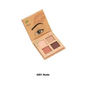 Felicea, naturalna paleta cieni do powiek #201 Nude