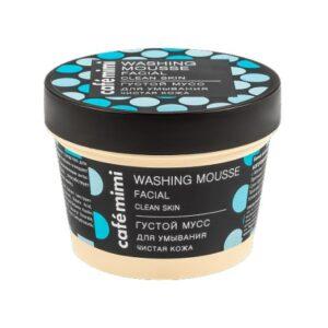 Cafe Mimi, gęsty mus do mycia twarzy – Oczyszczona Cera 110 ml