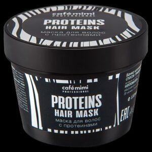 Cafe Mimi, maska do włosów z proteinami 110ml